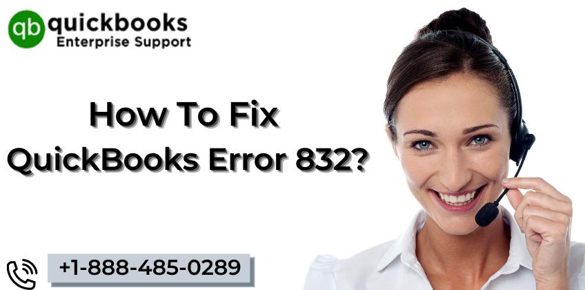 QuickBooks Error 832