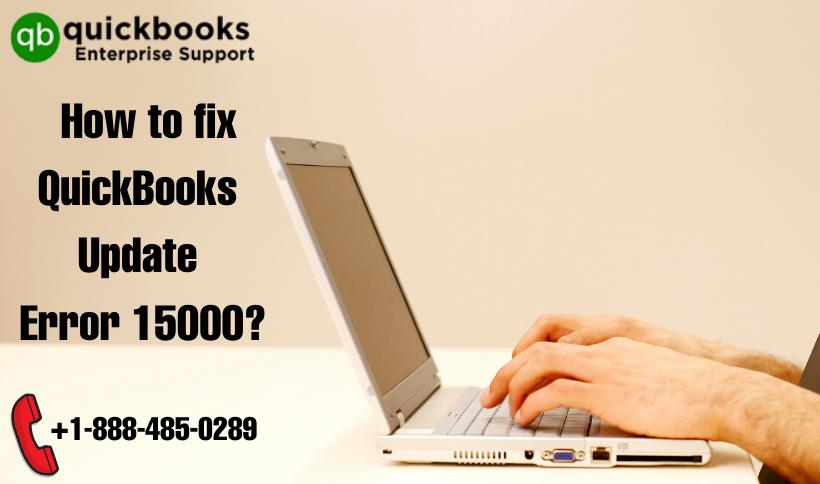 How to fix QuickBooks Update Error 15000?