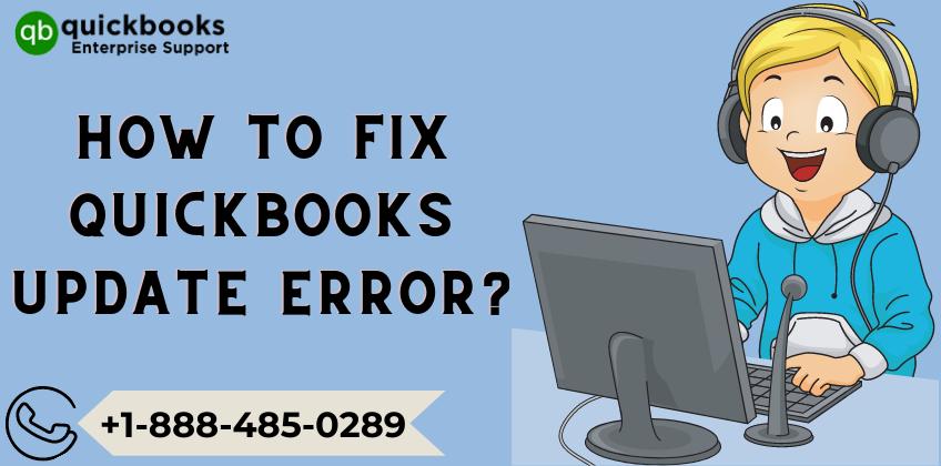 How to fix QuickBooks Update Error_