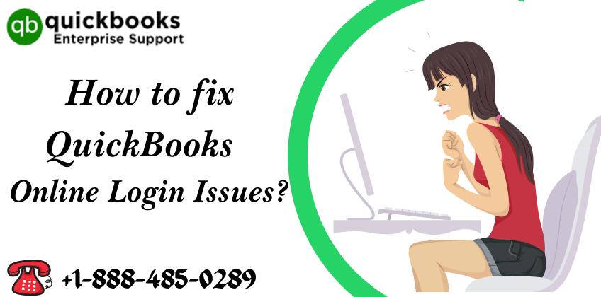QuickBooks Online Login Issues 1-888-485-0289
