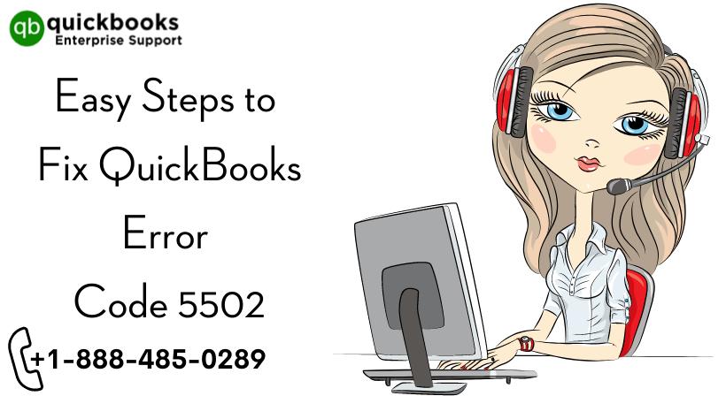 Easy Steps to Fix QuickBooks Error Code 5502