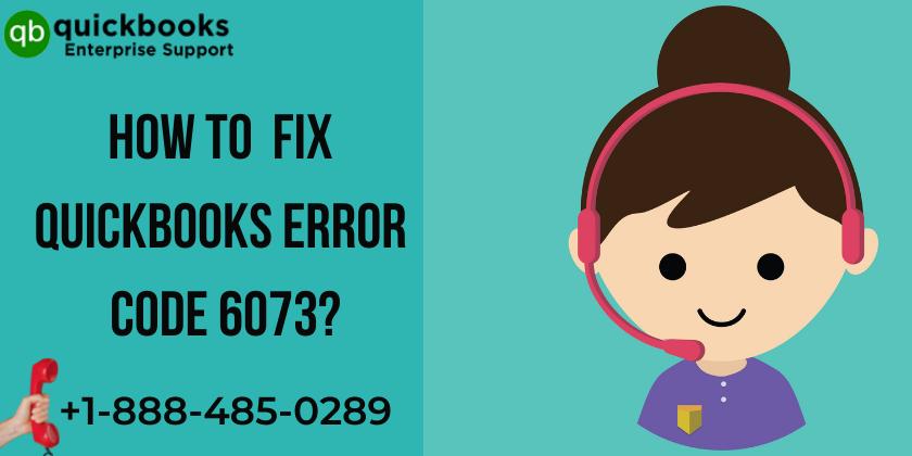 QuickBooks Error Code 6073