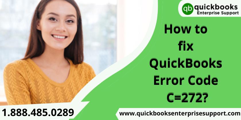 Quickbooks Error Code C=272
