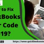 How to Fix QuickBooks Error Code C=19