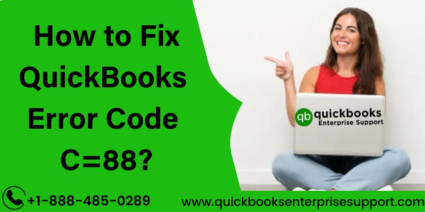 QuickBooks Error Code C=88