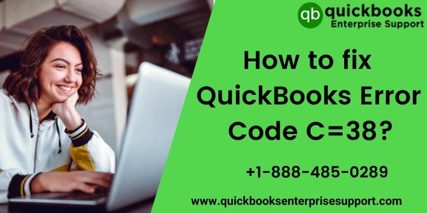 how to fix QuickBooks Error Code C=38
